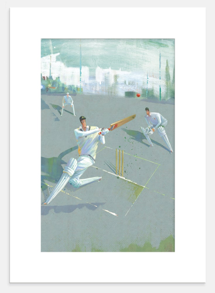 Image of Cricket Print