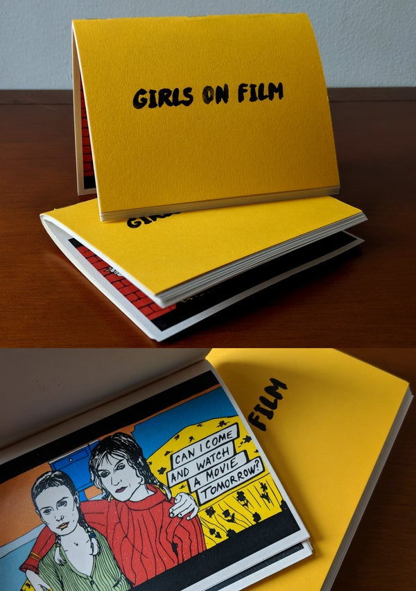 "Image of ""GIRLS ON FILM"" zine"