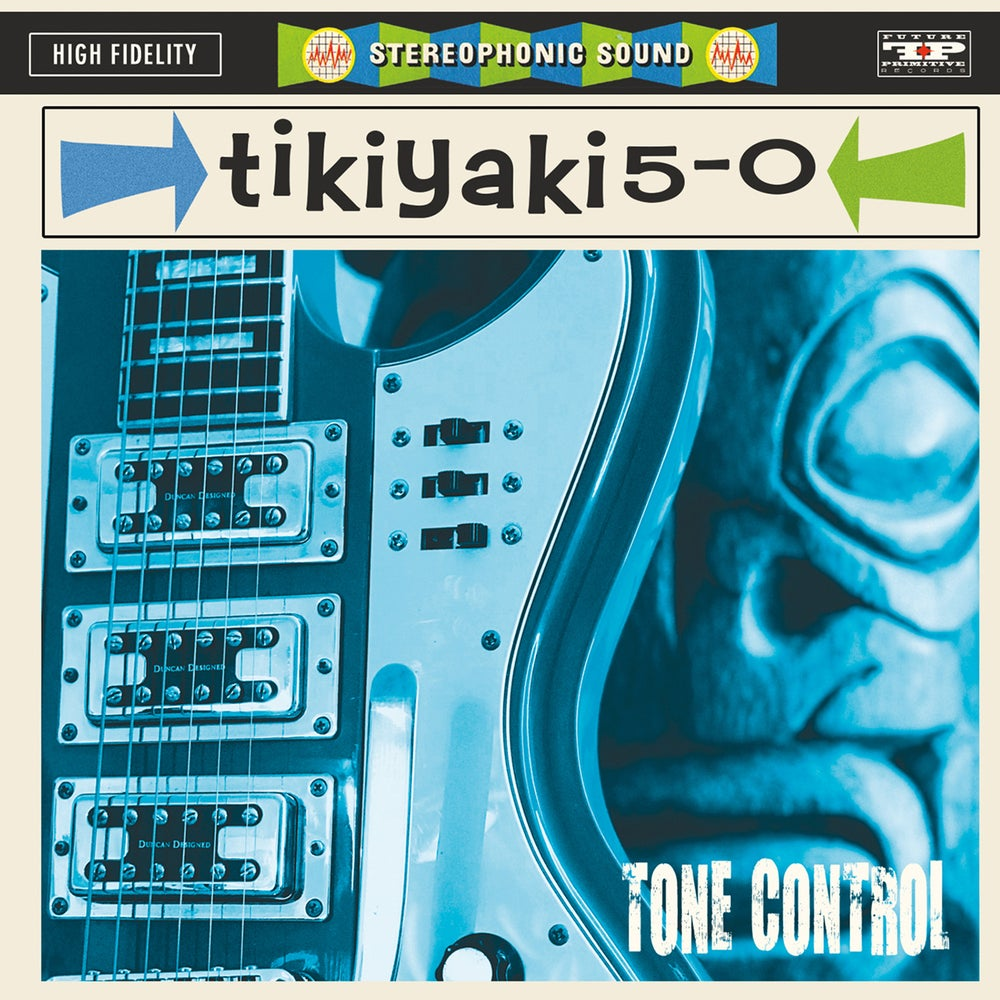 "Image of TIKIYAKI 5-0 - ""Tone Control"" 6 Song EP CD"