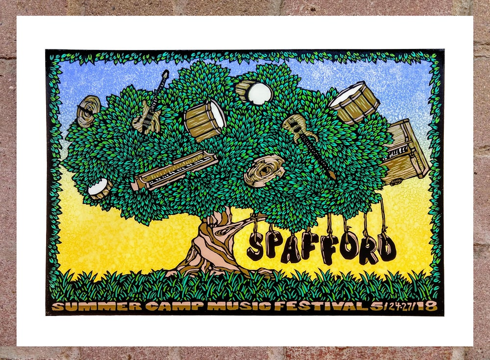 Image of Spafford Summer Camp Show Print May 24-27 2018