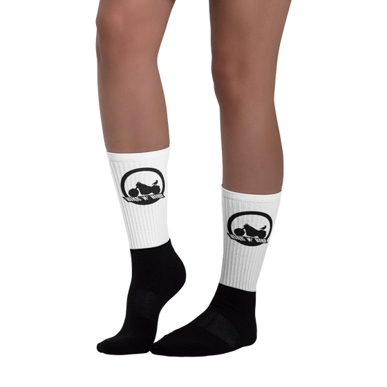Image of Bike N' Bird Logo Socks