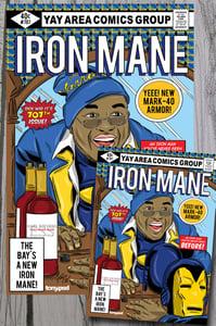 Image of Iron Mane art print combo