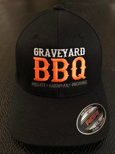 Image of GRAVEYARD BBQ - FlexFit Hat