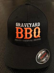 Image of GRAVEYARD BBQ - FlexFit Hat