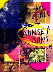 Image of Sunset Sons Poster - Sound City, Liverpool, 2018