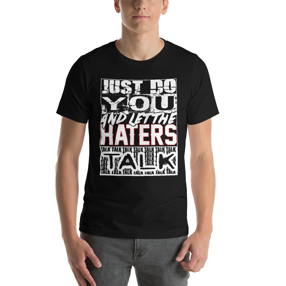 Image of Haters Talk T-Shirt Black
