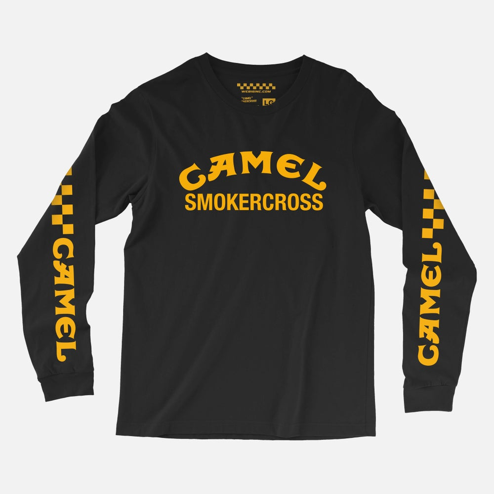 Image of CAMEL SMOKERCROSS LONG SLEEVE TEE