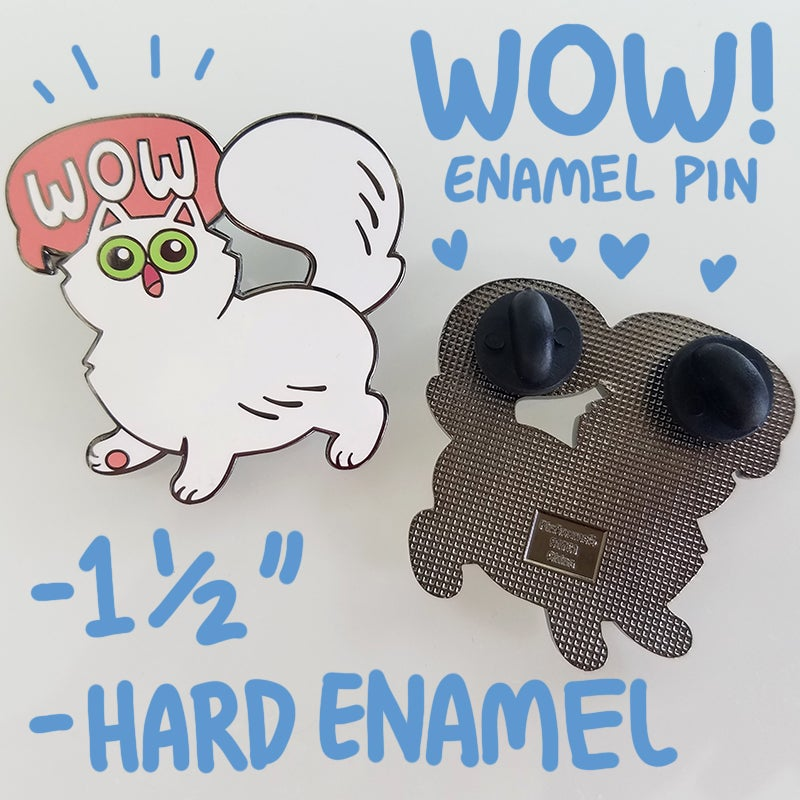 Image of Hime enamel pin