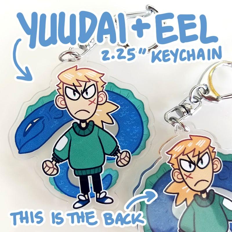 Image of Yuudai + Eel keychain