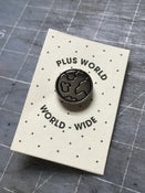 Image of Plus World Pin