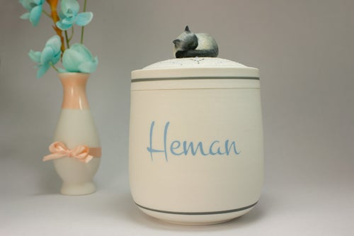Image of Siamese Persian Himalayan Blue Point Custom Pet Urn