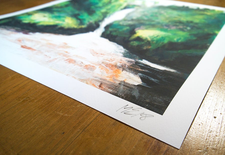 Image of Aira Force - Limited Edition Giclée Print