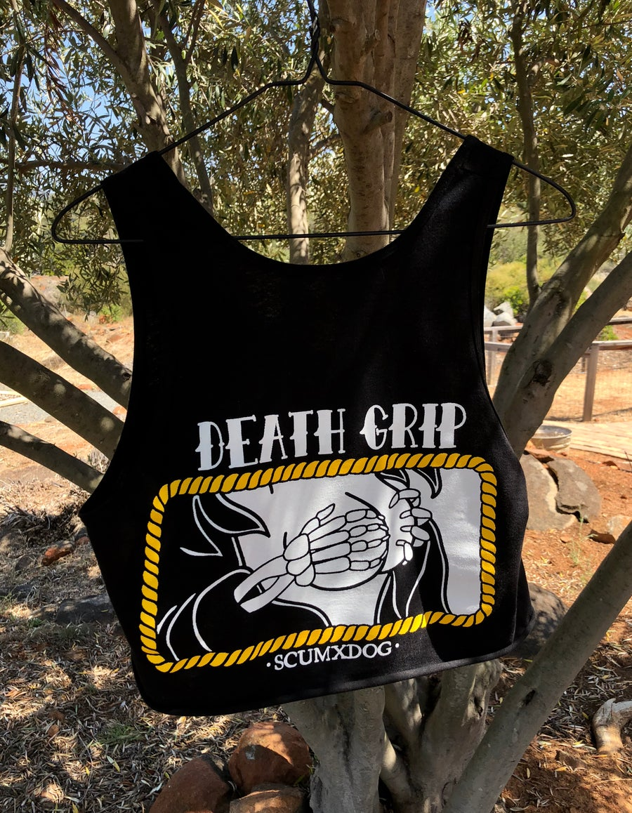 Image of DEATH GRIP TANK CROP