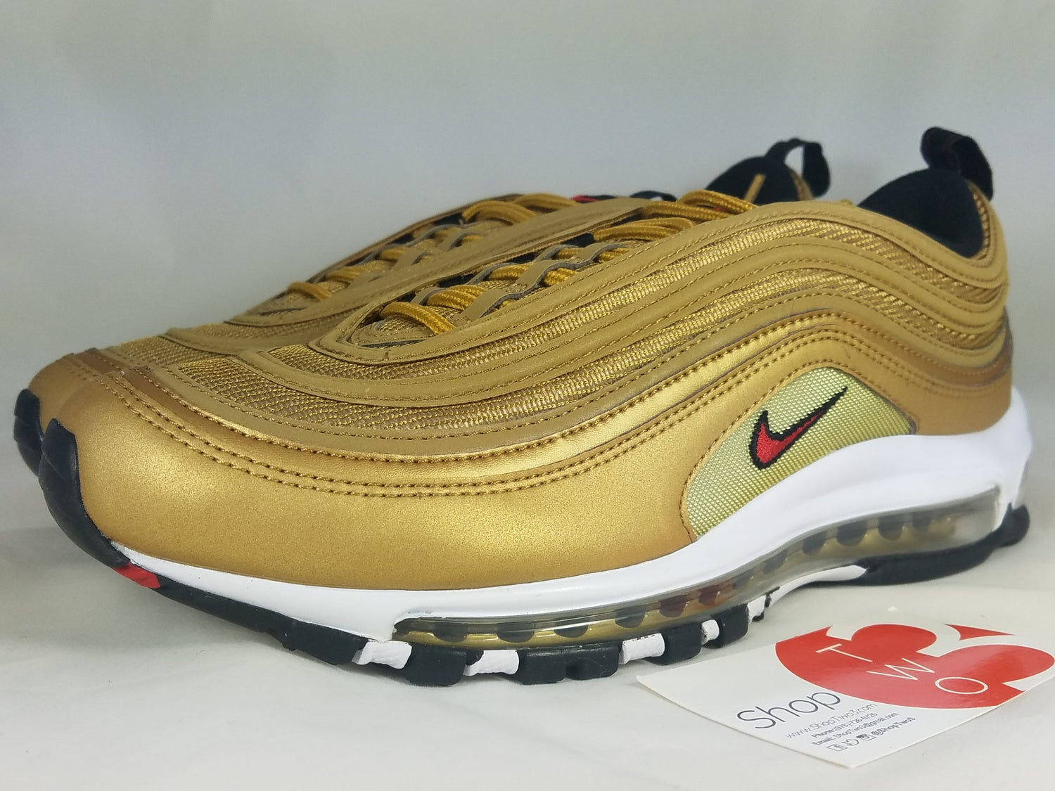 Image of Nike Air Max 97 OG QS Gold