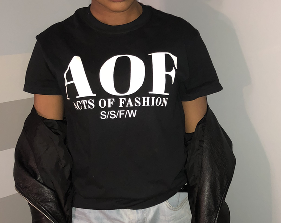 Image of Acts of Fashion Spring, Summer, Fall, Winter Logo Tee