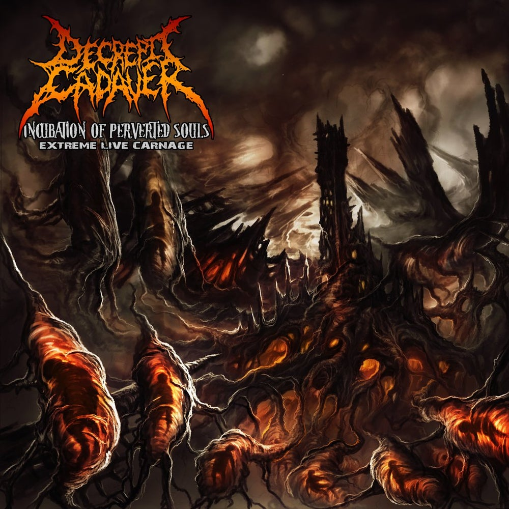 Image of DECREPIT CADAVER (chi) incubation of perverted souls - Live CD [chaotic brutal records] $7.500