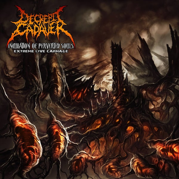 Image of DECREPIT CADAVER (chi) incubation of perverted souls - Live CD [chaotic brutal records] $7.500