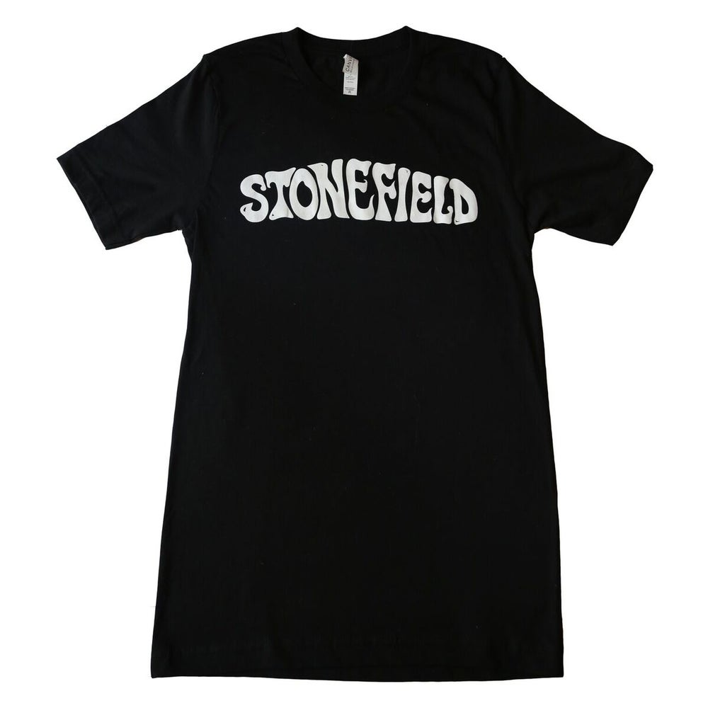 Image of Black Stonefield Logo T-Shirt