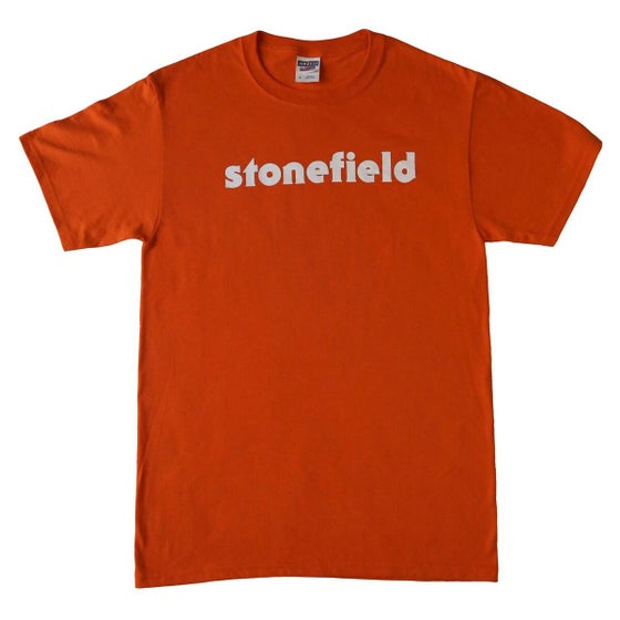 Image of Orange Stonefield Logo T-Shirt
