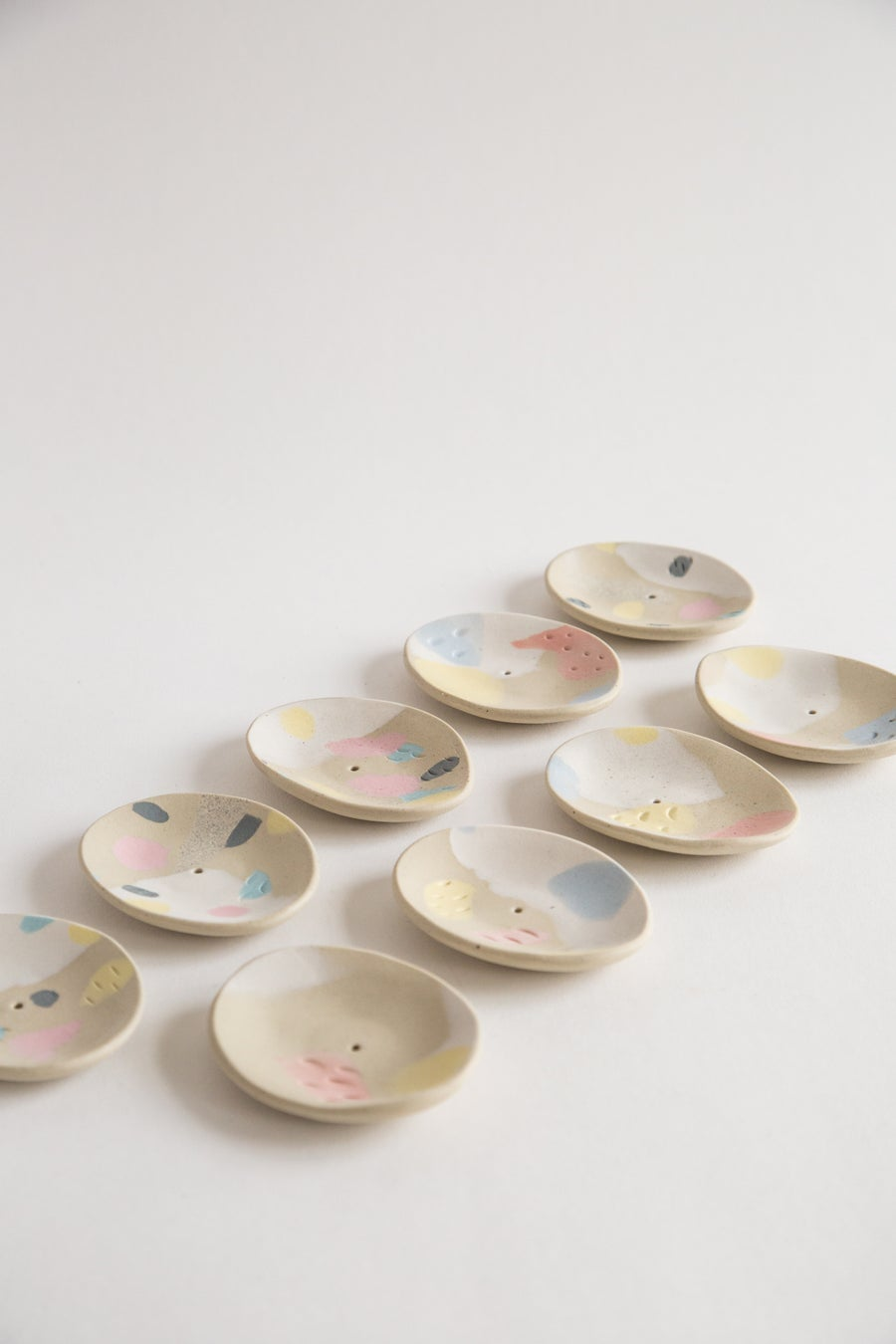 Image of Primary Pastel Incense Holders