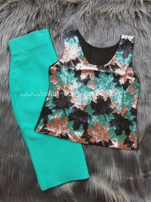 Image of Flash Sequins Top