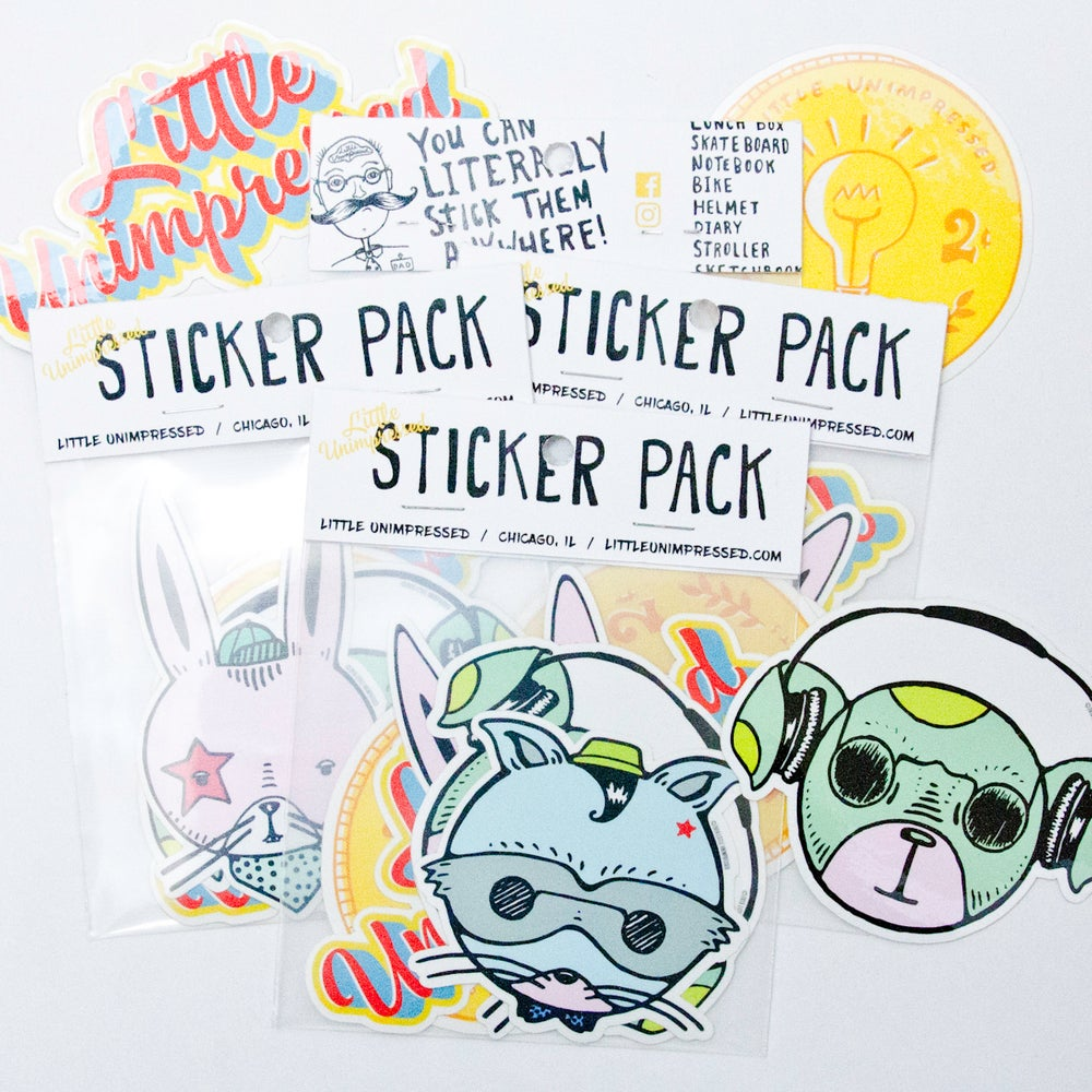 Image of Little Unimpressed Sticker Pack