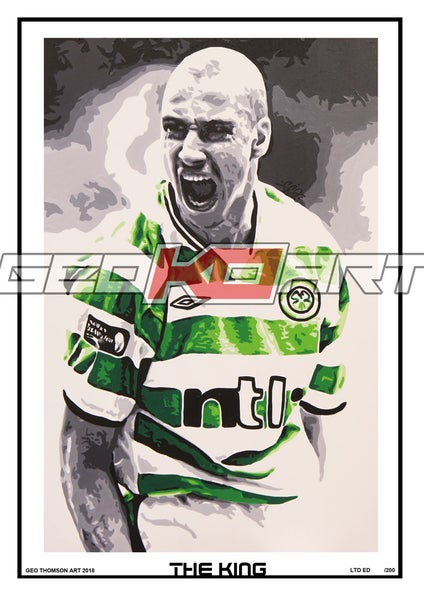 Image of THE KING - HENRIK LARSSON