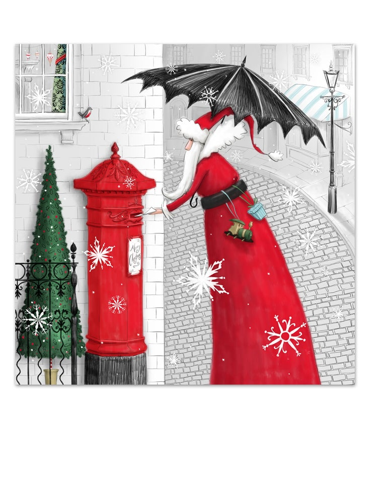 Image of Christmas Post, Christmas card