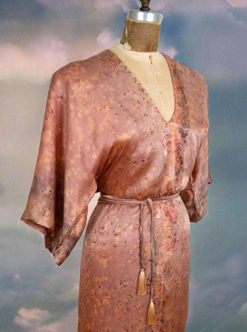 Image of Rose Kimono Wrap dress
