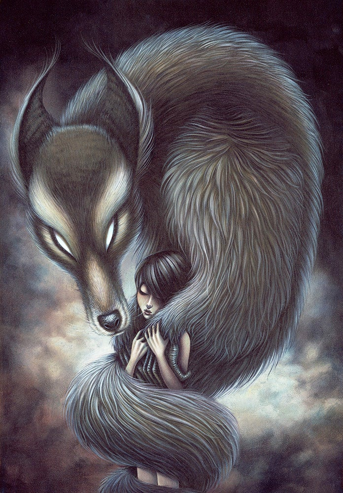 """Image of """"The Monster Within"""", Limited Edition Giclee Print"""