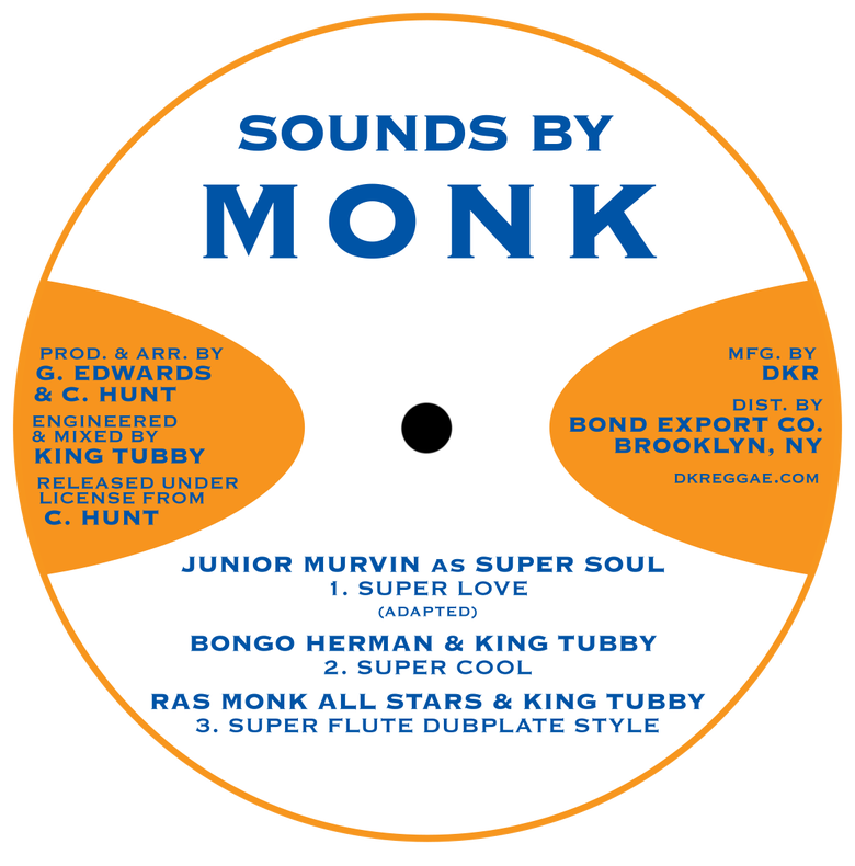 "Image of Junior Murvin / I Roy - Super Love / Flying High 12"" EP (Sounds By Monk)"
