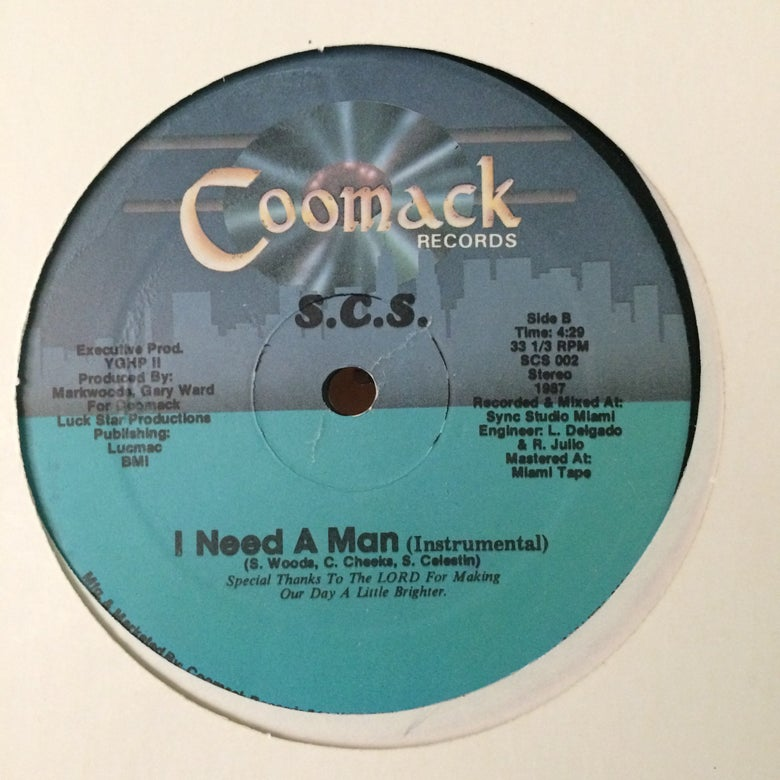 Image of S.C.S - I need a man