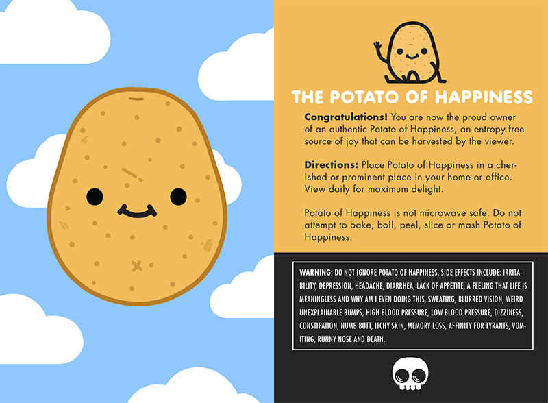 Image of The Potato of Happiness I