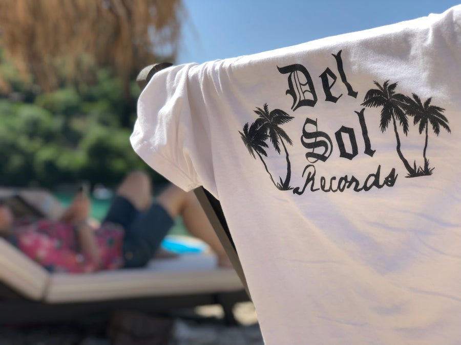 Image of Del Sol Records White Tee