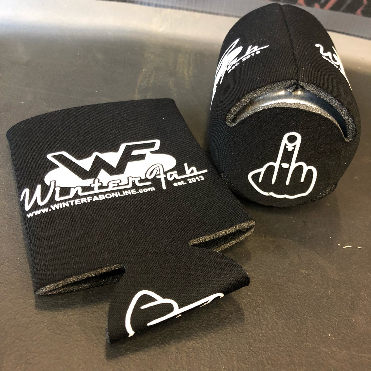Image of WinterFab Middle Finger Koozie