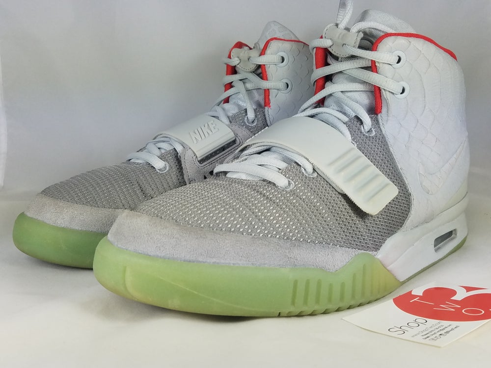 Image of Air Yeezy 2 Pure Platinum