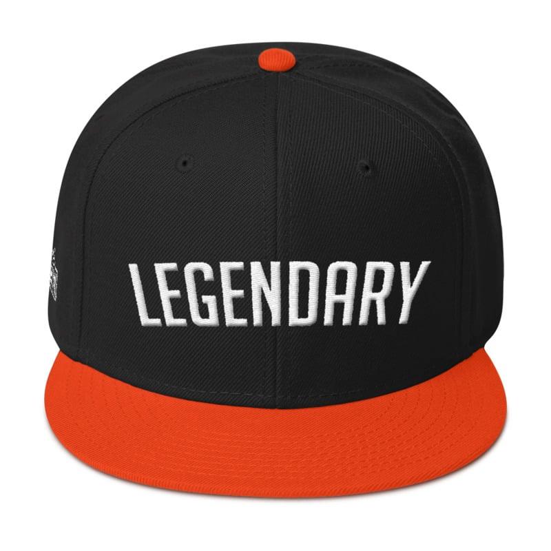Image of DTown Legendary Snapback (Orange & Black)