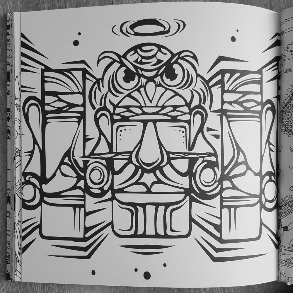 Image of The Ultimate Street Art Coloring Book