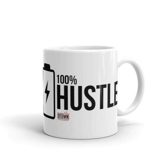 Image of 100% HUSTLE Mug