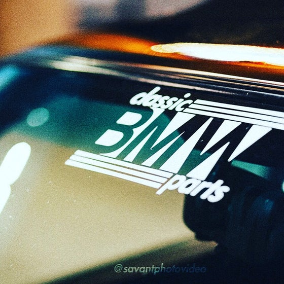 Image of Classic BMW Parts Sticker