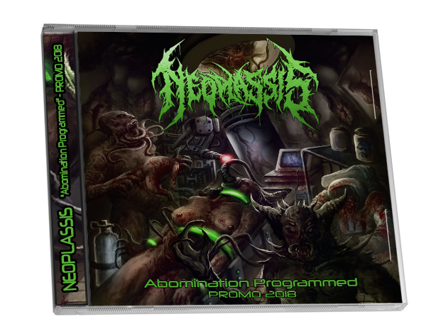 Image of !!!PRE ORDER!!! Abomination Programmed - Promo 2018 [LIMITED TO 100 COPIES]