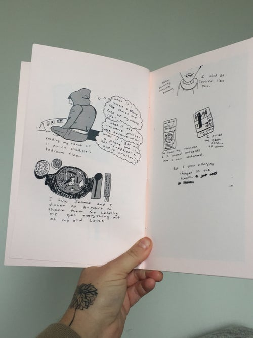 Image of Zine: Nurture your loneliness