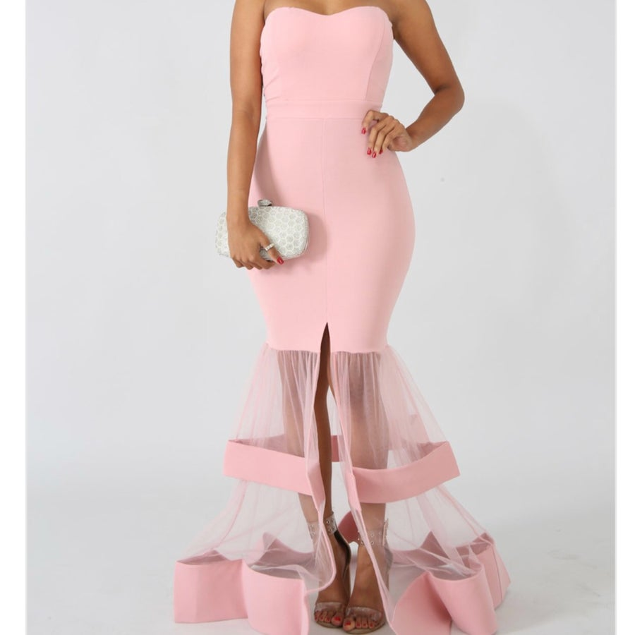 Image of Cindy blush gown