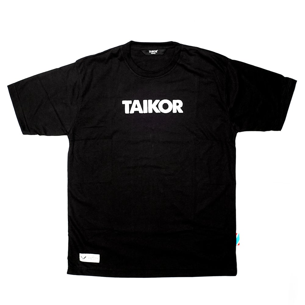 Image of TAIKOR Basic Tee 2018 (White/Black)