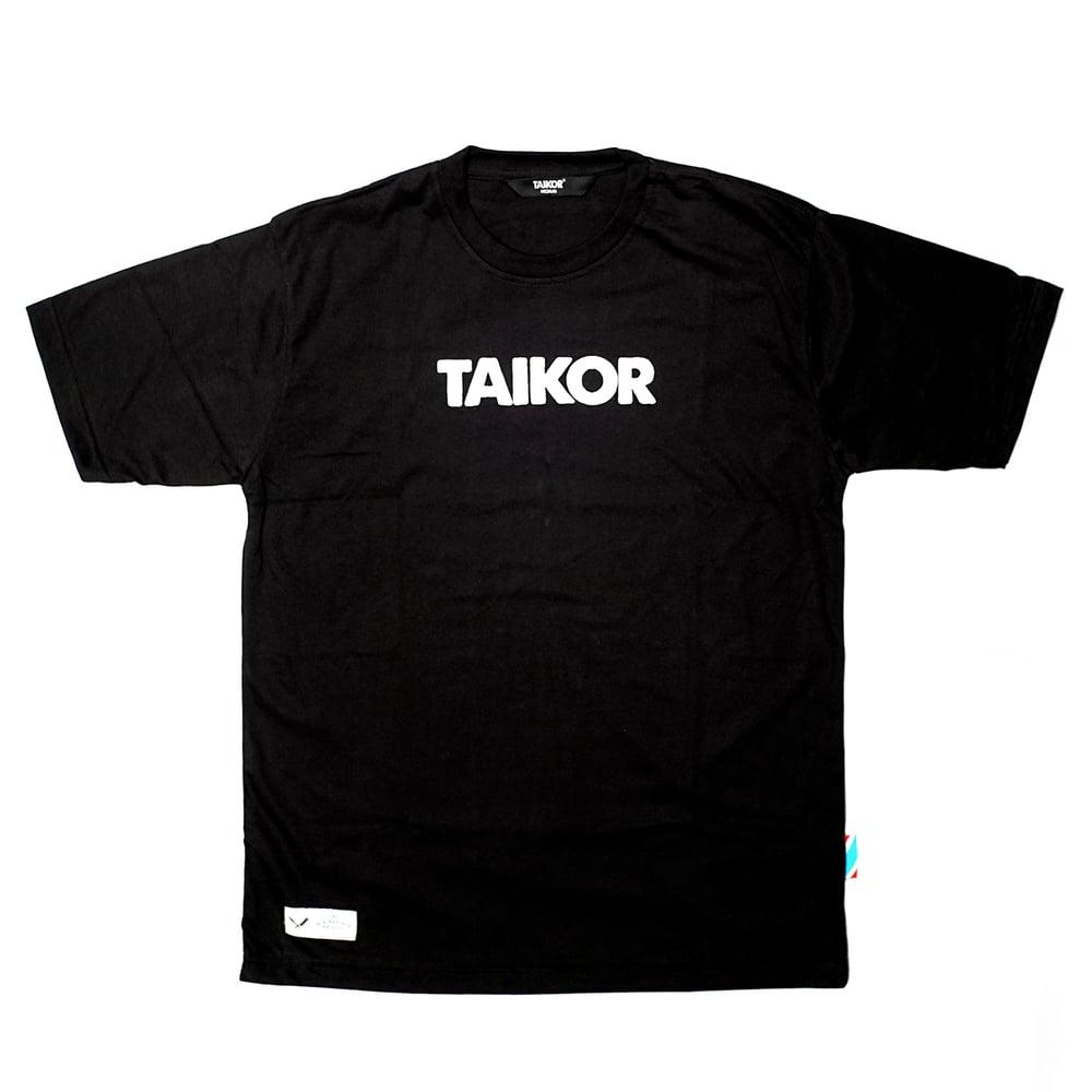 Image of TAIKOR Basic Tee 2018 (White/Black)