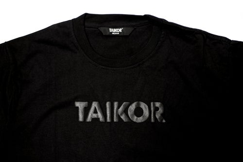 Image of TAIKOR Basic Tee 2018 (Black/Black)