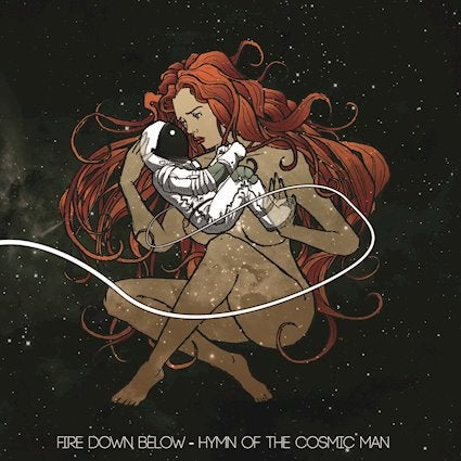 "Image of Fire Down Below - Hymn of the Cosmic Man ""Black Depths of Space"" Edition Vinyl LP"