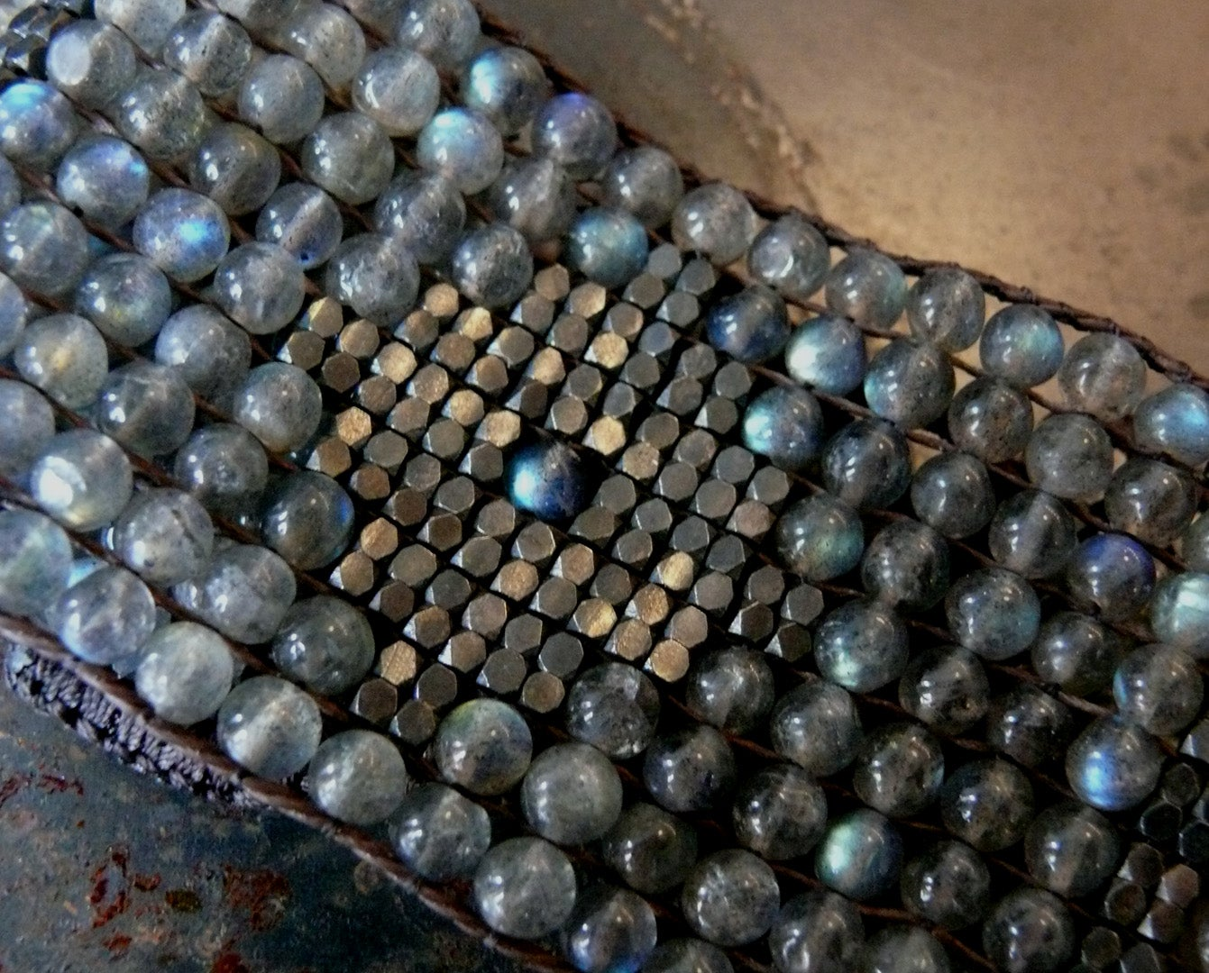 Image of Labradorite cuff by loveheals