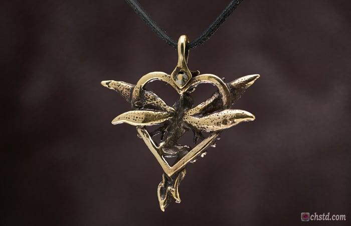 Pendant : ELF : Necklace / keychain