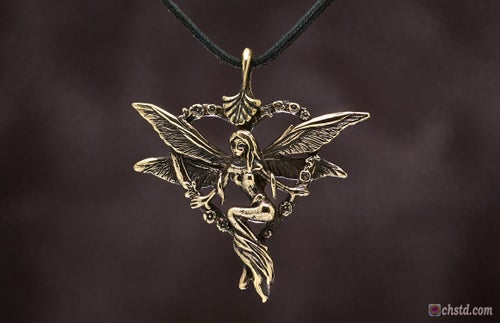 Image of Pendant : ELF : Necklace / keychain